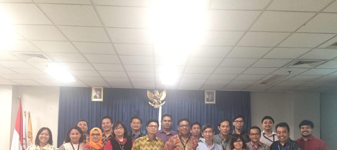 Alumni Sharing Session Bernard Liandie Ransingin pada Innagurasi Mahasiswa Baru MMSI Periode Genap Periode 2 – 2018/2019