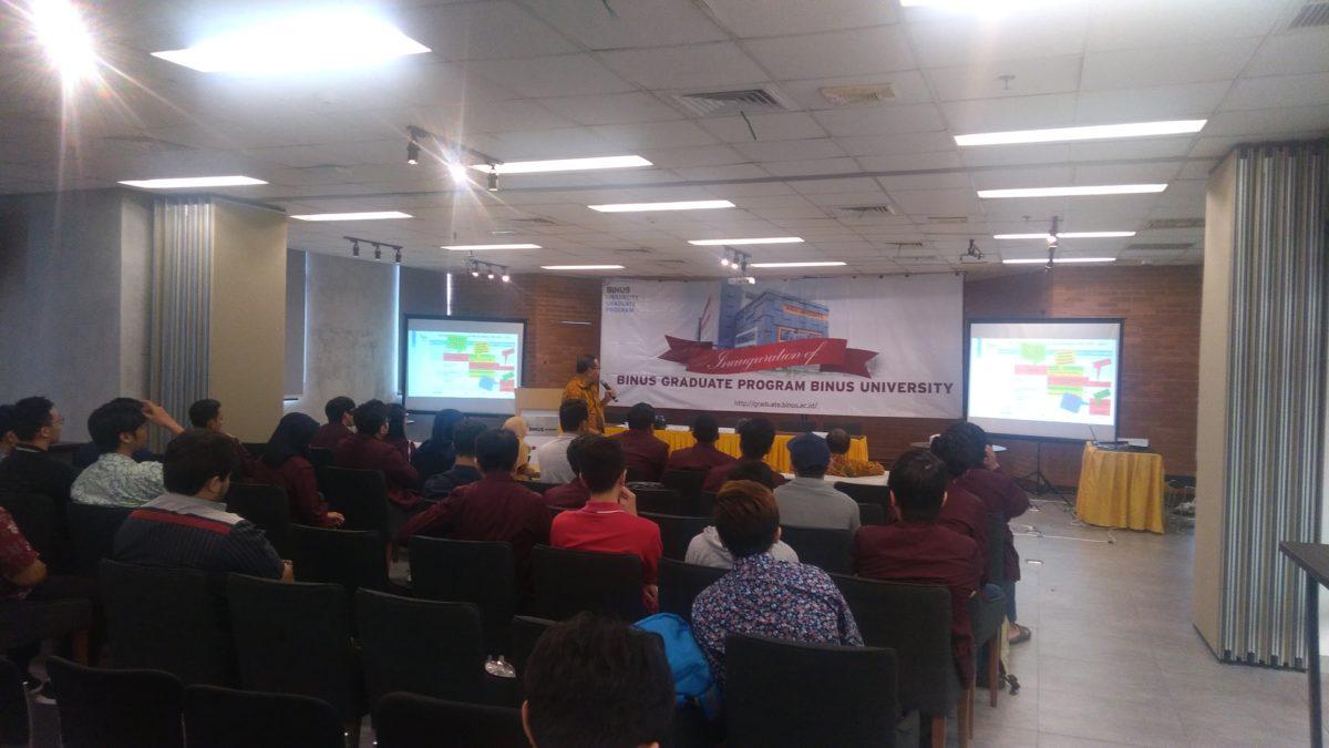 Innagurasi & Briefing Mahasiswa Baru MMSI MMSI Semester Genap 2018/2019 Periode 2