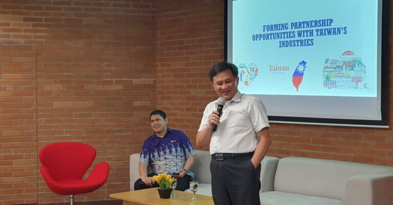 Guest Lecture Forming Partnership Oppurtunities with Taiwan's Industries by Professor Jenn-Jaw Soong
